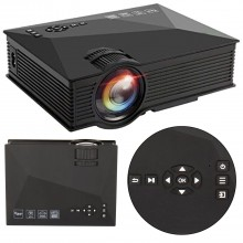 Proiettore video WI FI LED 1080P HD HDMI USB casa ufficio film cinema multimedia