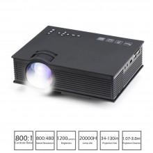 Proiettore video WI FI LED 1080P HD HDMI USB casa ufficio film cinema multimedia