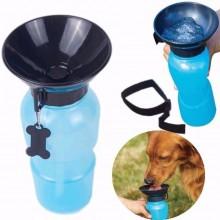 Borraccia portatile per cane gatto animali acqua 400ML ciotola viaggio dispenser