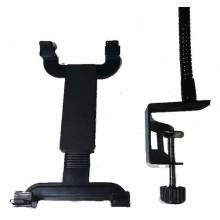Supporto Stand in metallo con braccio telescopico per iPad Galaxy e Tablet PC dai 7 ai 10 pollici