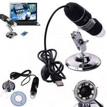 Microscopio digitale USB 1000X endoscopio luce led PC video camera HD