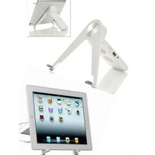 Supporto Stand da tavolo con altoparlante speaker incorporato per iPad 2 3 4 Mini Google Nexus Samsung Tab Tablet PC