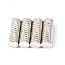 135 Magneti 1x0,1 cm calamite tonde potenti bricolage fai da te magnete calamita