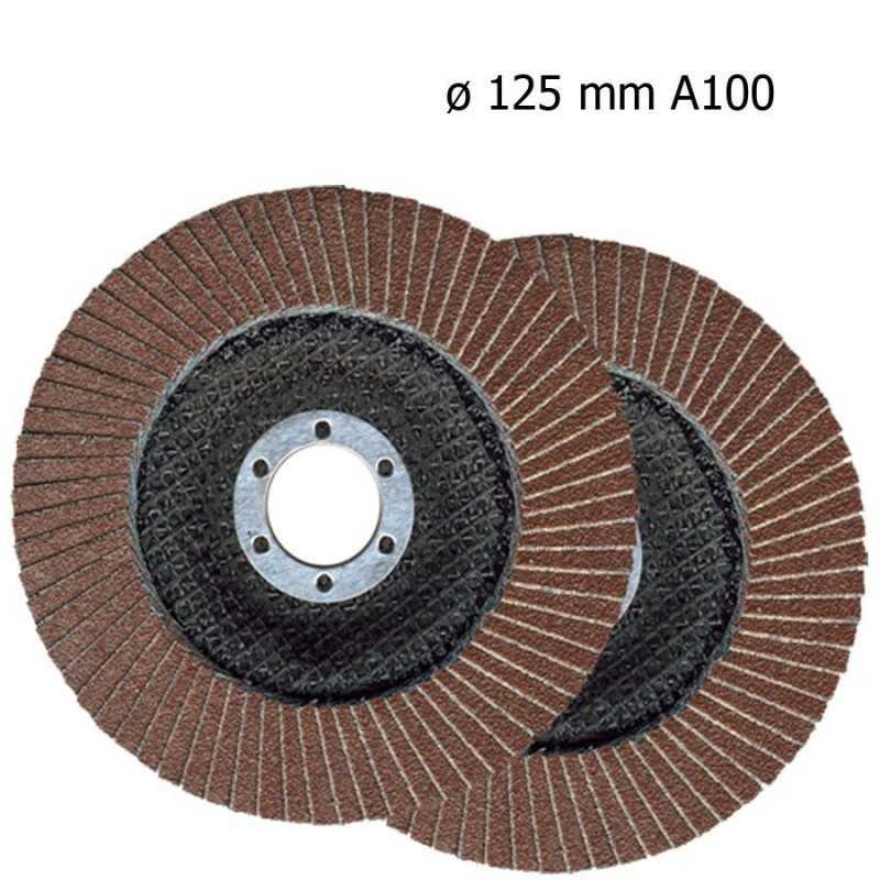 Dischi abrasivi carta vetrata levigatrice disco 125/180mm grana 100/120