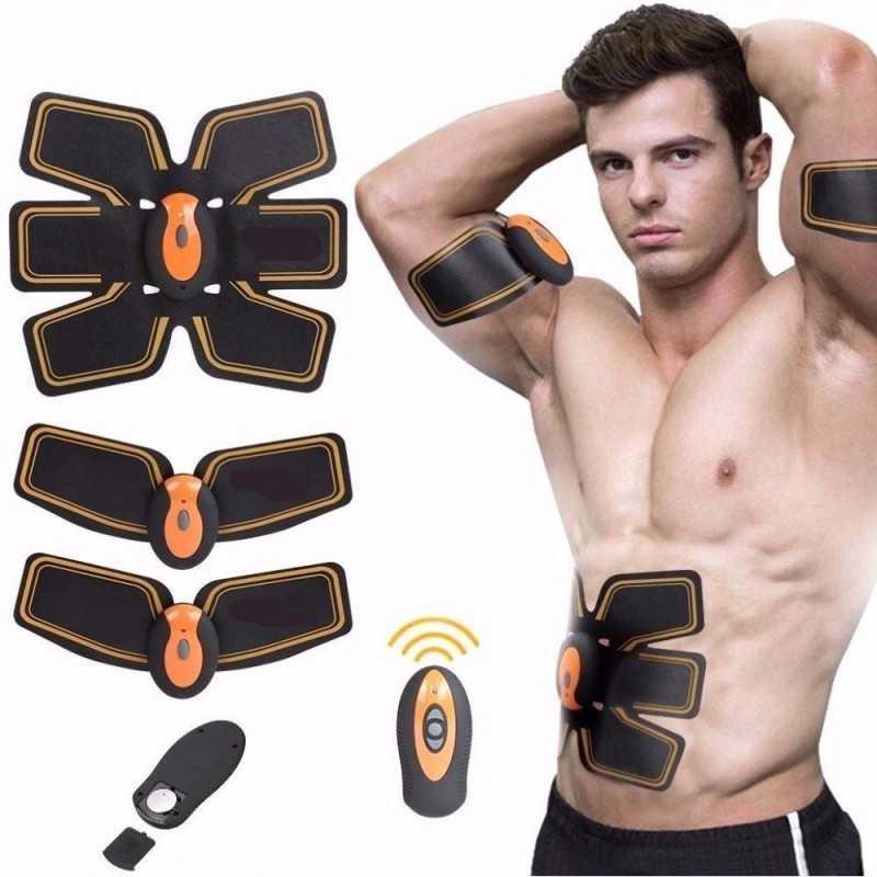 EMS Elettro stimolatore wireless con telecomando addominali gamme glutei fitness