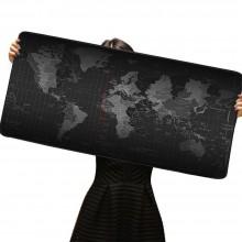 Mousepad tappetino XXL 900x400x3mm Mappa del Mondo mouse mat tappeto laptop game