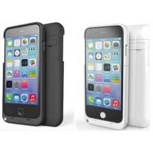 "Power Bank iPhone 6 PLUS (5.5"") Cover Batteria integrata caricabatteria 5000mAh  - Disponibile bianco o Nero"