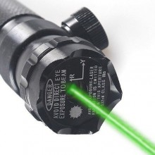 Laser fascio puntatore LED verde mira paintball caccia softair tiro mirino point