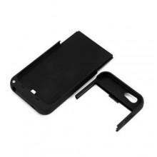 """Cover Batteria 4800mAh per Apple iPhone 6 (4.7"""") Batteria supplementare Power Bank con piedino estraibile - Nero o Bianca"""