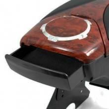 Bracciolo comodo simil legno auto universale regolabile due vani un porta bibite
