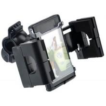 Supporto cellulare per bici manubrio universale orientabile 360° clip telefono