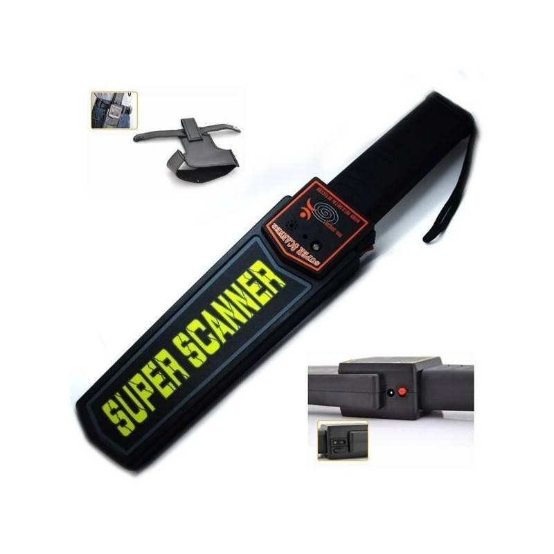 Scanner metaldetector rilevatore sicurezza metalli cercametalli rileva portatile