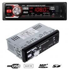 1233 Autoradio Auto Stereo MP3 WMA USB SD MMC AUX Display LCD 50W4 telecomando
