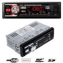 1233 Autoradio Auto Stereo MP3 WMA USB SD MMC AUX Display LCD 50W4 telecomando