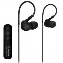 2997 Cuffie sport bluetooth senza fili wireless controllo remoto 3,5 archetto