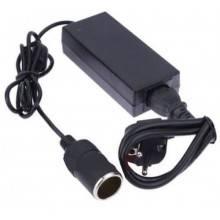 Alimentatore trasformatore presa 220V accendisigari da rete ad auto 12V - MAX 5A