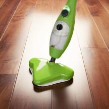 Scopa elettrica a vapore per pulizia pavimenti divano stoffa straccio igiene