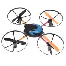 Drone no.6044 quadrirotore motore quattro eliche UFO rediocomandato batteria