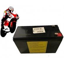 Batteria senza manutenzione moto scooter 12V 9Ah non spillable attacchi faston
