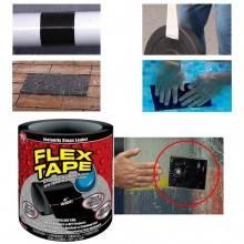 Nastro adesivo nero riparazione 1,5 m 10 cm impermeabile resistente raggi UV