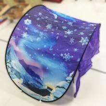 Tenda fantasia idea regalo bambini letto cameretta stellata inverno 3 anni