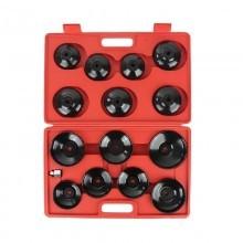 Chiavi 15 pz valigetta coppa olio filtro cambio chiave varie dimensioni bussola