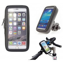 """Supporto cellulare massimo 6"""" pollici da bici zip impermeabile touch smartphone"""