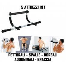 Sbarra Trazioni Barra Dorsali Stipite Porta Allenamento fasci muscolari
