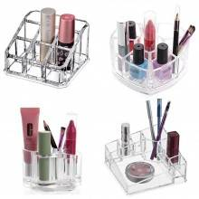 Organizzatore cosmetici box porta trucco portatrucchi rossetti make up trucchi