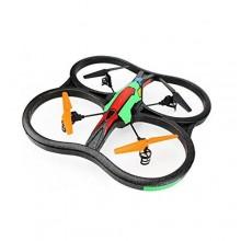 Drone INTRUDER batteria quadrimotore quattro eliche rotore UFO radiocomandato