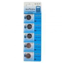 5 pacchi 25 batterie pile CR1616 batteria bottone pila piatta piatte 3V assortite