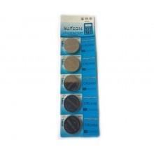 5 pacchi 25 batterie pile CR2430 batteria bottone pila piatta piatte 3V assortite