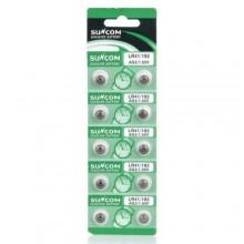 5 pacchi 25 batterie pile CR2450 batteria bottone pila piatta piatte 3V assortite