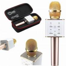 Microfono ORO wireless bluetooth cassa integrata batteria karaoke altoparlante