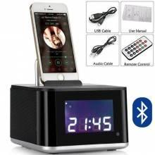 Sveglia Orologio Calendario Cassa altoparlante bluetooth altoparlante smartphone