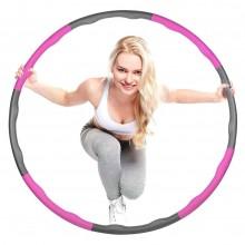 Hula Hoop in schiuma componibile smontabile addominali e fianchi perfetti 95 cm