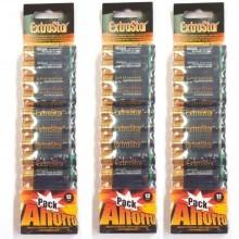 3 pacchetti 36 batterie ministilo AAA lunga durata R03 1.5V pile batteria pila