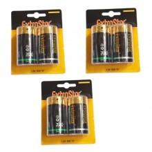 3 pacchetti 36 batterie stilo AA lunga durata R6 1.5V pile batteria pila