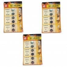 3 pacchi 12 batterie AAA telecomando lunga durata pile batteria pila ministilo