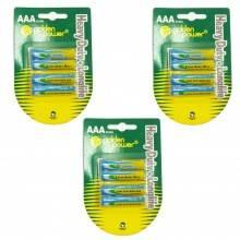 3 pacchi 6 batterie C R14-2B mezza torcia lunga durata pile batteria torce 1,5V