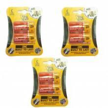 3 pacchi 12 batterie AAA SUM-4 lunga durata pile batteria pila ministilo