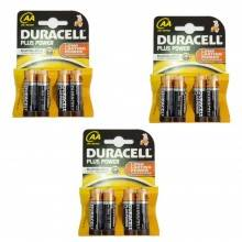 3 pacchetti 6 batterie C mezza torcia LR14 lunga durata pile batteria torce