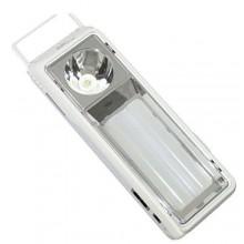 DP-7118 Lampada ricaricabile 6W portatile torcia luce 2400mAh luce bianca