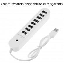 HUB 4 porte USB alimentatore porta chiavetta pennetta moltiplicatore 1TB support