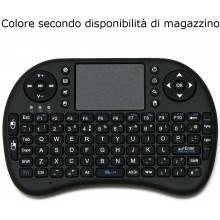 Tastiera wireless bluetooth universale mouse touchpad smartphone smart tv tablet