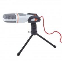 Microfono SF-666 condenser jack 3,5mm video chiamate registrazione voce