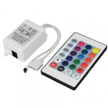 Telecomando LED striscia controllo colore dimmer flash strobe fade change unità