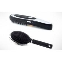Spazzola capelli ricrescita pettine trattamento bulbi piliferi laser vibrazioni