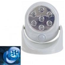 Faro sensore movimento LED luce bianca faretto esterno luce cortesia 360 gradi