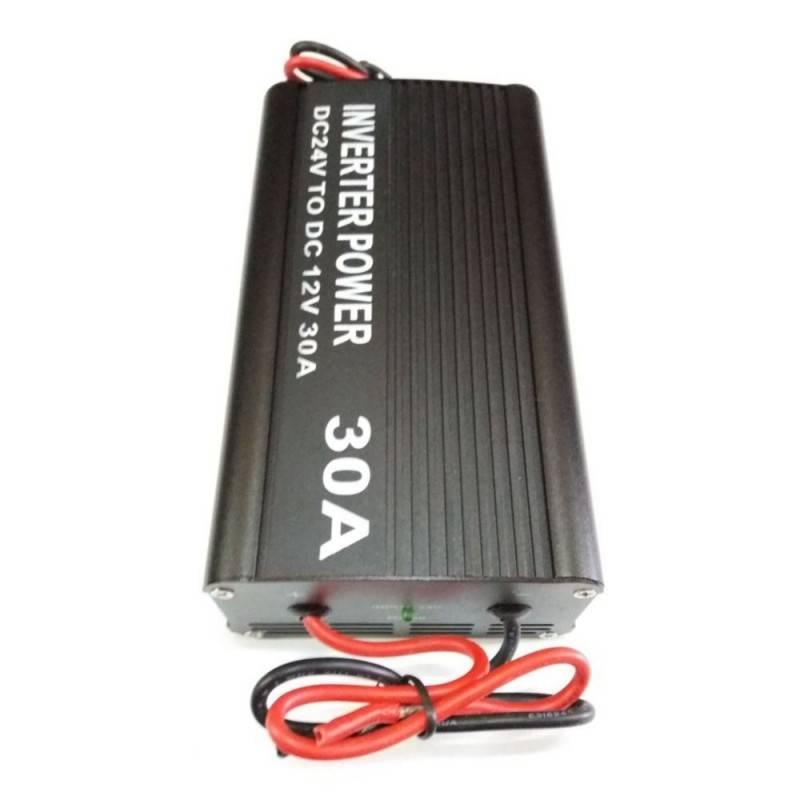 Inverter trasformatore 12V 30A auto campeggio barca camper presa USB DC24V DC
